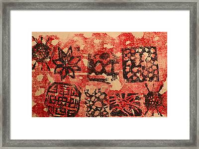 Patterns And Surfaces Framed Print by Biagio Civale