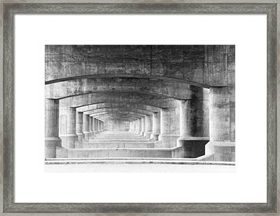 Patterns Framed Print by Eric Foltz