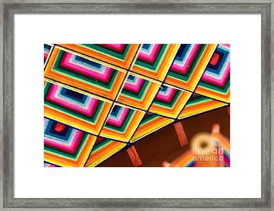Patterns I Framed Print by Irene Abdou