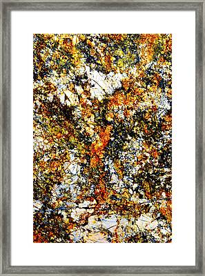 Framed Print featuring the photograph Patterns In Stone - 207 by Paul W Faust - Impressions of Light