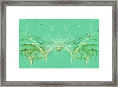 Patterns In Tropical Leaf Framed Print by Irina Safonova