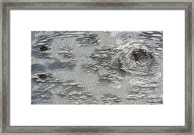 Patterns In Wood Framed Print