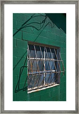 Patterns Framed Print by Murray Bloom