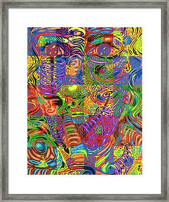 Patterns Of Personality Framed Print