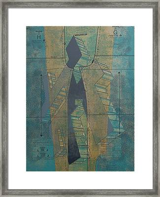Patterns Series Number Seven Framed Print by Sonja Olson