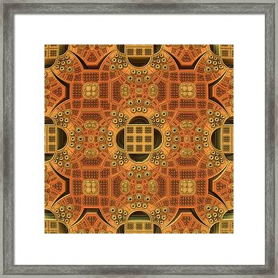 Patterns Within Patterns Framed Print by Lyle Hatch