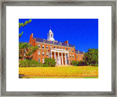 Patterson Hall  Framed Print
