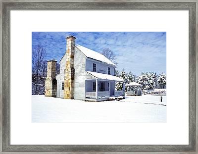 Patterson House Carnifax Ferry Battlefield Framed Print