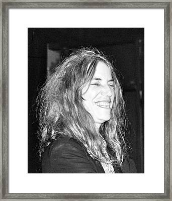 Patti Smith 1 Framed Print