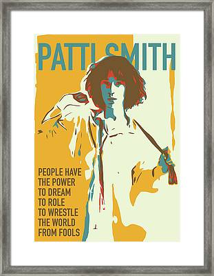 Patti Smith Framed Print