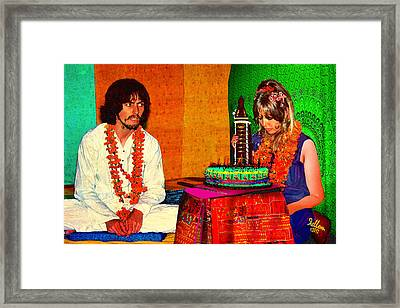 Pattie Boyd 24th Birthday Framed Print by Che Rellom