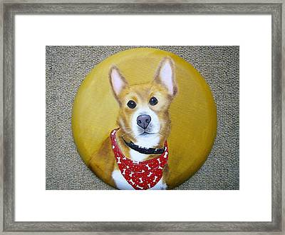 Patti's Grand-dog Framed Print