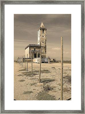 Patton Church Framed Print by Jez C Self