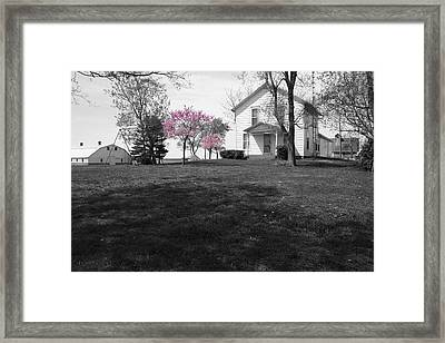 Patton Place Framed Print