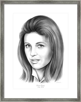 Patty Duke Framed Print by Greg Joens