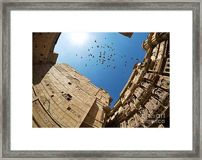 Framed Print featuring the photograph Patwon Ki Haveli by Yew Kwang