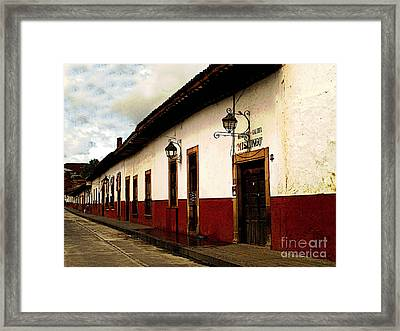 Patzcuaro Colors Framed Print by Mexicolors Art Photography