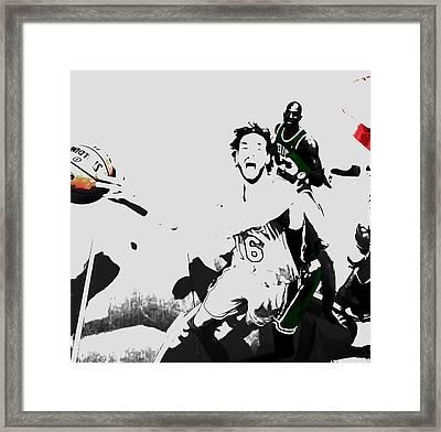 Pau Gasol 2c Framed Print by Brian Reaves