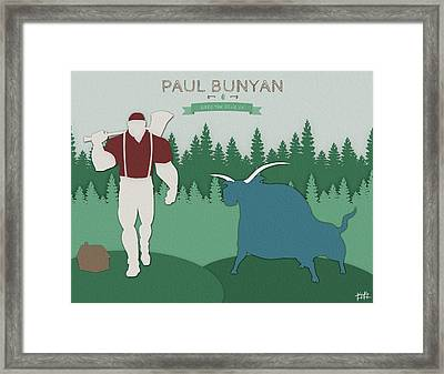 Paul And Babe Framed Print