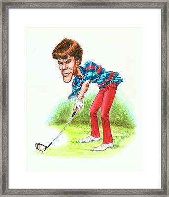 Paul Azinger Framed Print