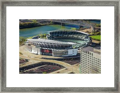 Paul Brown Stadium Framed Print