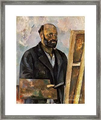 Paul Cezanne (1839-1906) Framed Print by Granger