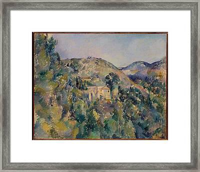 Paul Czanne    View Of The Domaine Saint Joseph Framed Print