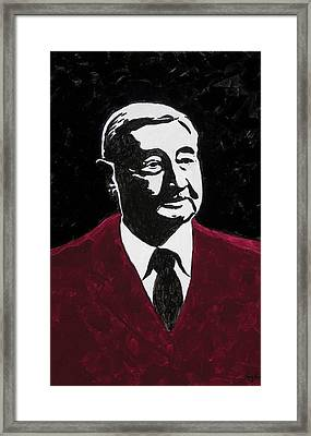 Paul Eells Framed Print by Amy Parker