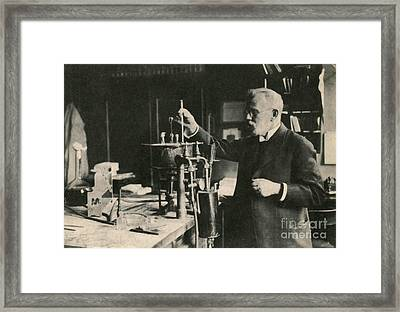 Paul Ehrlich, German Immunologist Framed Print by Photo Researchers