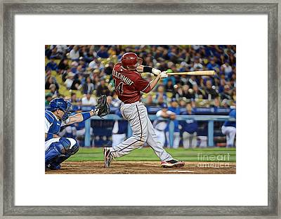 Paul Goldschmidt Framed Print