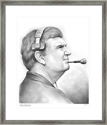 Paul Johnson Framed Print