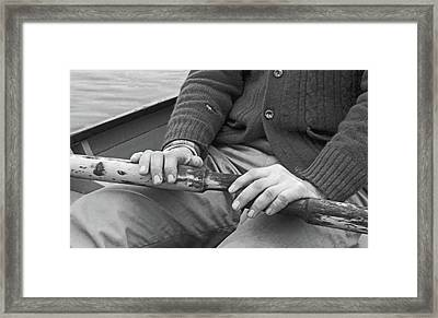 Framed Print featuring the photograph Paul by Laurie Stewart