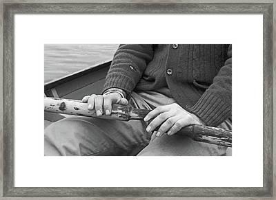 Paul Framed Print by Laurie Stewart