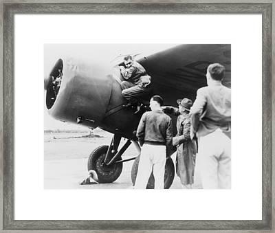 Paul Mantz, Stunt Pilot And Air Racer Framed Print