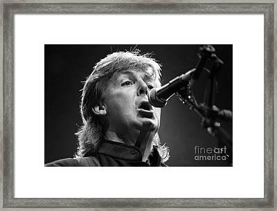 Paul Mccartney Framed Print