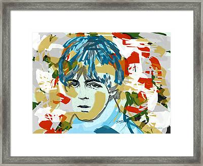 Paul Mccartney Framed Print by Suzanne Gee