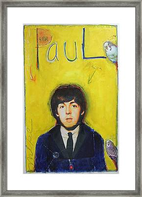 Paul Framed Print by Mike  Mitch