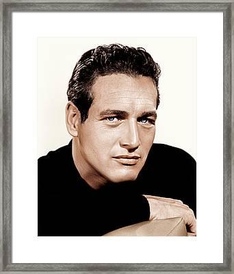 Paul Newman, Ca. 1963 Framed Print by Everett