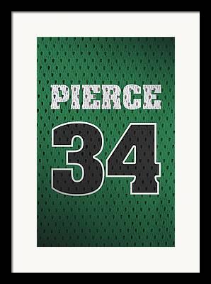 Paul Pierce Framed Prints