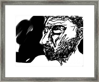 Paul Ramnora Self-portrait Framed Print