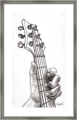 Paul Reed Smith In B Minor Framed Print