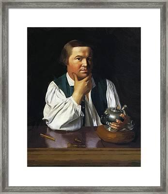 Paul Revere 1770 Framed Print