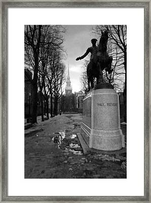 Paul Revere Framed Print by Andrew Kubica