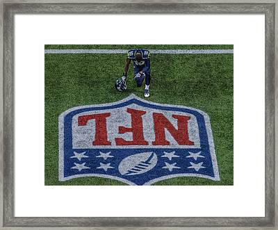 Paul Richarson Nfl Framed Print