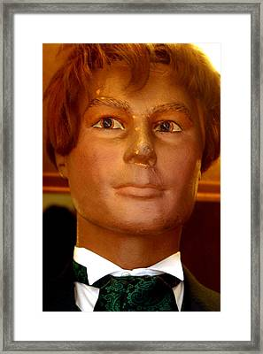 Paul Usher To Dick Framed Print by Jez C Self