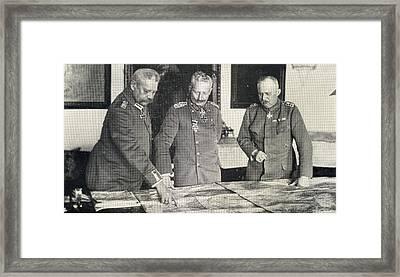 Paul Von Hindenburg, 1847-1934. General Framed Print by Vintage Design Pics