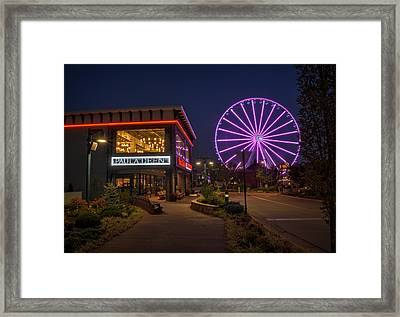 Paula Deen's At Night Framed Print