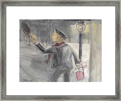 Pauley's Present Framed Print by Jessica Mason