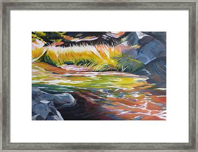 Paulina Creek Framed Print