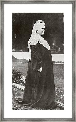 Pauline Elisabeth Ottilie Luise Zu Framed Print